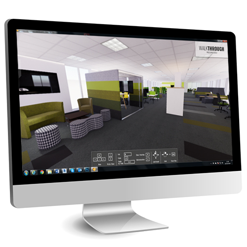 An example of how VR innovations are impacting office design.