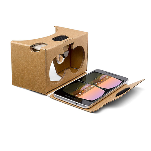 Google cardboard is another way VR innovations are impacting office design.