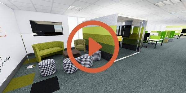 See our 3D walkthrough Office Design Style