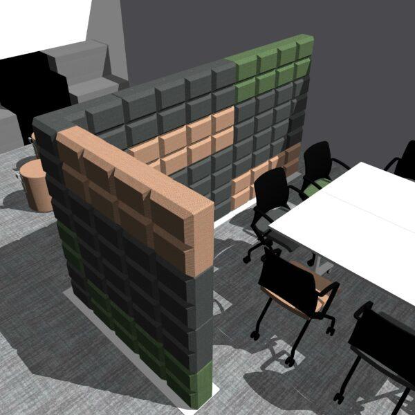 Fabricks, Ocee Design - versatile office furniture