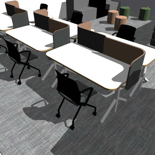 Flex Connection desks - versatile office furniture