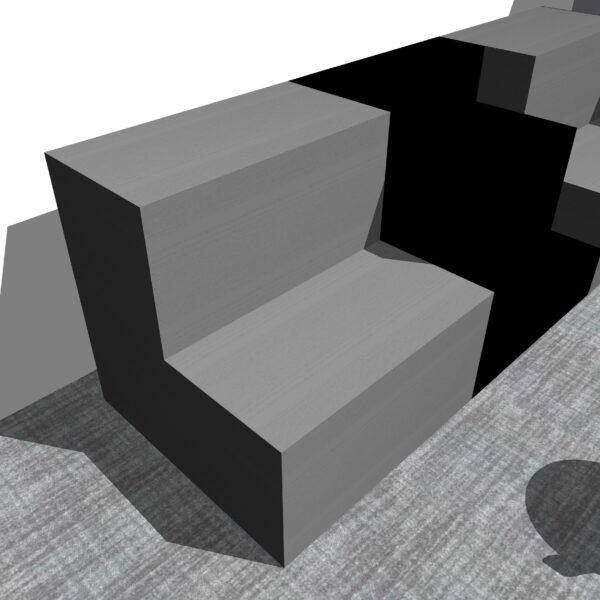 Stacked Huddleboxes - versatile office furniture